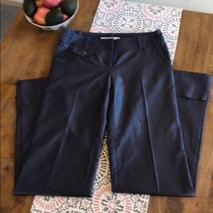 Trina Turk Size 4 Chambray Pant with cuff detail